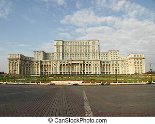 House of the People - Casa Populi, home of the parliament...