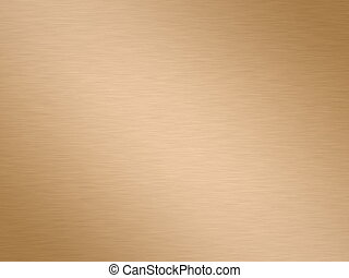 brushed copper - a large sheet of rendered brushed copper or...