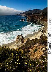 カリフォルニア, 海岸