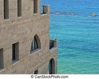 Mediterranean style house Jaffa - Mediterranean build style...