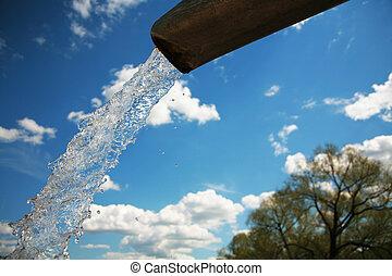 ren, Vatten