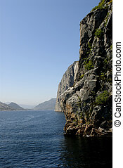 Lysefjord - Picture of Lysefjord - fjord near Stavanger in...