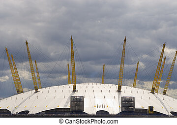 Millenium Dome, O2 Arena, London, England - The O2 Arena,...