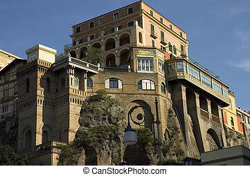 romantic hotel in Sorrento - old style hotel in Sorrento...