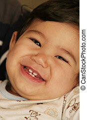 Handsome Baby Boy 2 - Handsome ,laughing, and smiling baby...