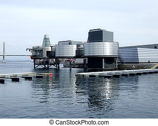 Oil museum in Stavanger, Norway