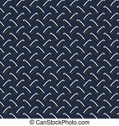 dark blue diamond plate - a large seamless sheet of dark...