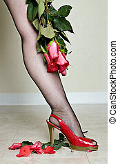A Woman Scorned - This time the red roses are not going to...