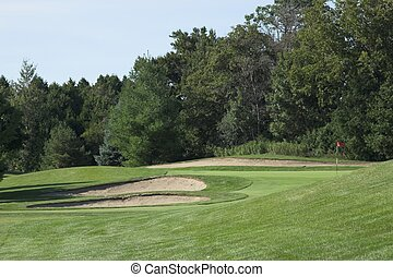 Sand traps - Obstacles on golf courses