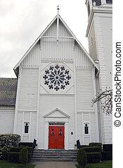 Old Church - An old local roman catholic church against an...