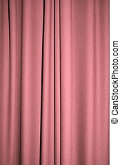 Pink curtain - Pale Grayish pink curtain or falling fabric