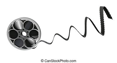 Film reel - 3D render of a film reel