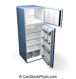 Fridge - 3D render of a fridge