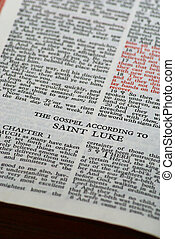 st luke - The gospel according to saint luke chapter one