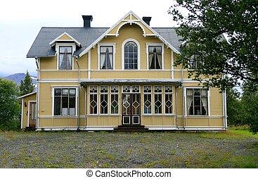 Old villa - Old uninhabited villa