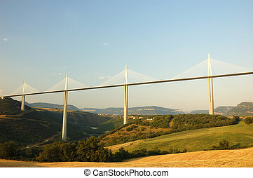 Millau Viaduct - The Millau Viaduct in France - highest...