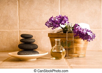 Spa design - day spa products for alternative medicine