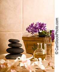 Relaxing - day spa products for alternative medicine