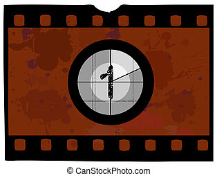 Film Countdown - At 1 - Old Fashioned Film Countdown No 1