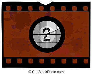 Film Countdown - At 2 - Old Fashioned Film Countdown No 2