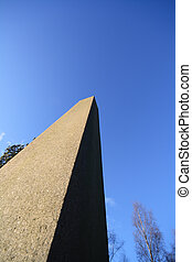 Stone obelisk - Pictures taken around St Ives near Bingley...