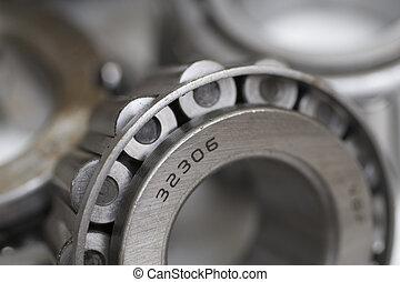 bearings - industrial background
