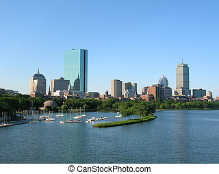 Boston - Back Bay Skyline.
