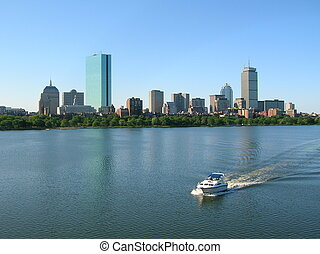 Boston - Boat on the Charles River