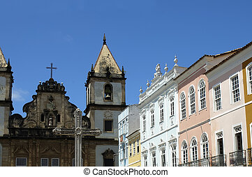 Salvador - Pelourinho - Historical Center of Salvador de...