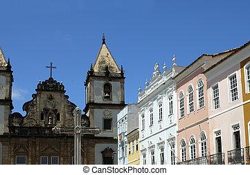 Salvador - Pelourinho - Historical Center of Salvador de...
