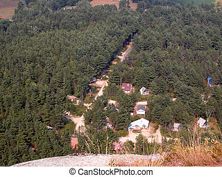 Village View - The village view from Cathedral Ledge in...