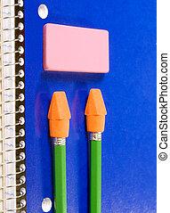 Notebook Pencil Eraser