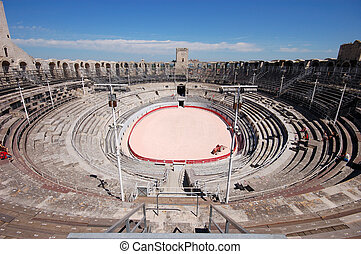Roman Arena - The Roman Arena in Arles, France