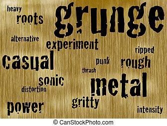 grunge background - illustrated grunge background