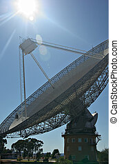 radio telescope - the huge satellite dish that is the...