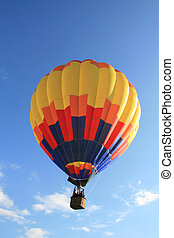 Hot Air03 - balloon in flight