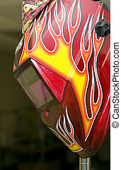 Welders can be snazy too! - A very brightly colored...