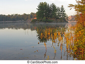 Sunrise on George Lake