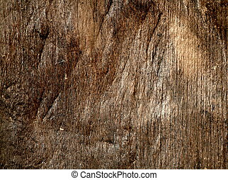 Old Wood - Texture of old wood showing colors and swirls