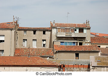 Buildings in Sete, France - Residential Buildings in Sete,...