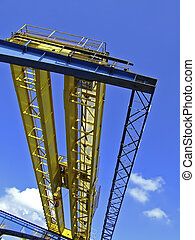 Harbour Crane - A Harbour Crane shot from nearly right...