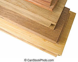 Lumber - Here is a stack of lumber of different designs