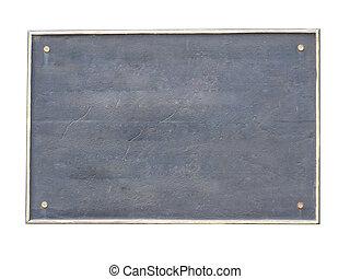 Old Board - Old board frame nameplate old plate frame