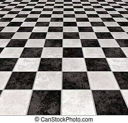 marble tiles - a large image of black and white marble floor...