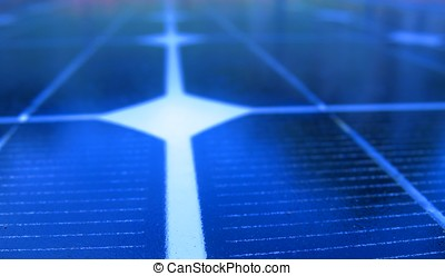 Solar Panel Macro - -- useful for alternative energy and...