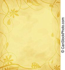 floral mottled paper