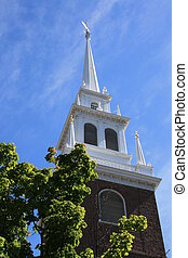Boston - Steeple of The Old North Church, Boston
