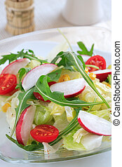Healthy salad - Healthy vegetable salad with low calorie