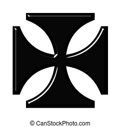 3D German Cross