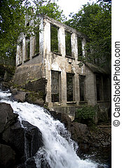 Wilison Ruins in Gatineau Park, Quebec, Canada